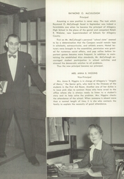 Page 16, 1953 Edition, Allegany High School - Alleganac Yearbook (Cumberland, MD) online yearbook collection
