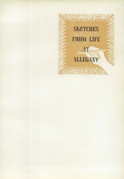 Page 9, 1953 Edition, Allegany High School - Alleganac Yearbook (Cumberland, MD) online yearbook collection