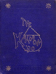 Allegheny College - Kaldron Yearbook (Meadville, PA) online yearbook collection, 1890 Edition, Cover