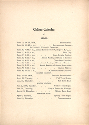 Page 17, 1898 Edition, Allegheny College - Kaldron Yearbook (Meadville, PA) online yearbook collection