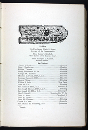 Page 15, 1907 Edition, Allegheny College - Kaldron Yearbook (Meadville, PA) online yearbook collection