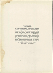 Page 12, 1922 Edition, Allegheny College - Kaldron Yearbook (Meadville, PA) online yearbook collection