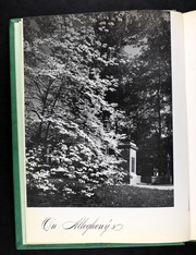 Page 8, 1947 Edition, Allegheny College - Kaldron Yearbook (Meadville, PA) online yearbook collection