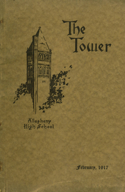Allegheny High School - Wah Hoo Yearbook (Pittsburgh, PA) online yearbook collection, 1917 Edition, Cover