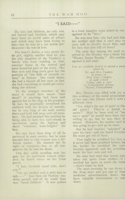 Page 14, 1922 Edition, Allegheny High School - Wah Hoo Yearbook (Pittsburgh, PA) online yearbook collection