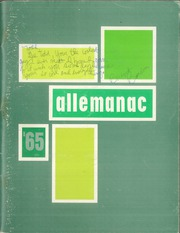 Alleman High School - Pioneer (Rock Island, IL) online yearbook collection, 1965 Edition, Cover