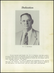 Page 13, 1953 Edition, Allen High School - Eagle Yearbook (Allen, TX) online yearbook collection