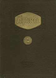 Allen High School - People Yearbook (Allentown, PA) online yearbook collection, 1930 Edition, Cover