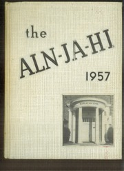 Allen Jay High School - Aln Ja Hi Yearbook (High Point, NC) online yearbook collection, 1957 Edition, Cover