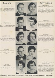 Page 17, 1957 Edition, Allen Jay High School - Aln Ja Hi Yearbook (High Point, NC) online yearbook collection