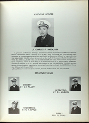 Page 8, 1962 Edition, Allen M Sumner (DD 692) - Naval Cruise Book online yearbook collection