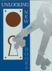Alliance High School - Bulldog Yearbook (Alliance, NE) online yearbook collection, 1987 Edition, Cover