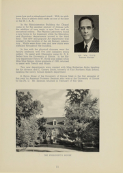 Page 13, 1939 Edition, Alma College - Scotsman Yearbook (Alma, MI) online yearbook collection
