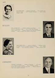 Page 14, 1939 Edition, Alma College - Scotsman Yearbook (Alma, MI) online yearbook collection