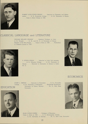 Page 15, 1939 Edition, Alma College - Scotsman Yearbook (Alma, MI) online yearbook collection