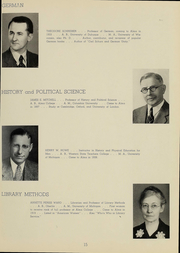 Page 17, 1939 Edition, Alma College - Scotsman Yearbook (Alma, MI) online yearbook collection