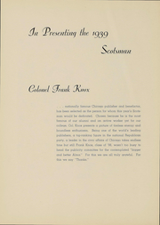 Page 6, 1939 Edition, Alma College - Scotsman Yearbook (Alma, MI) online yearbook collection