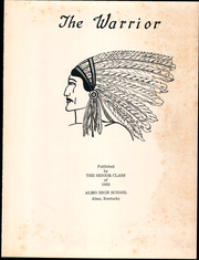 Page 7, 1952 Edition, Almo High School - Warrior Yearbook (Almo, KY) online yearbook collection