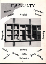 Page 9, 1957 Edition, Almo High School - Warrior Yearbook (Almo, KY) online yearbook collection