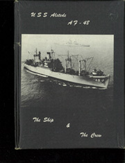 Alstede (AF 48) - Naval Cruise Book online yearbook collection, 1957 Edition, Cover