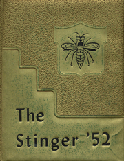 Alto High School - Stinger Yearbook (Alto, TX) online yearbook collection, 1952 Edition, Cover