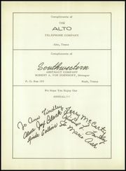 Alto High School - Stinger Yearbook (Alto, TX) online yearbook collection, 1957 Edition, Page 106
