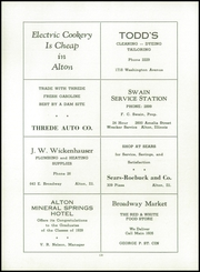 Alton High School - Tatler Yearbook (Alton, IL) online yearbook collection, 1939 Edition, Page 124 of 136