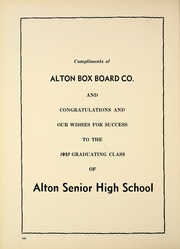 Alton High School - Tatler Yearbook (Alton, IL) online yearbook collection, 1957 Edition, Page 168 of 200
