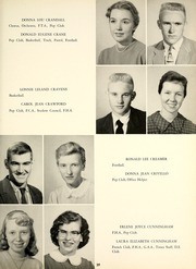 Alton High School - Tatler Yearbook (Alton, IL) online yearbook collection, 1958 Edition, Page 43 of 208