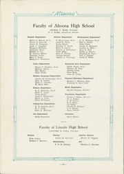 Page 14, 1925 Edition, Altoona High School - Horseshoe Yearbook (Altoona, PA) online yearbook collection