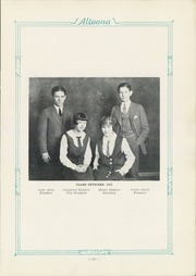 Page 17, 1925 Edition, Altoona High School - Horseshoe Yearbook (Altoona, PA) online yearbook collection