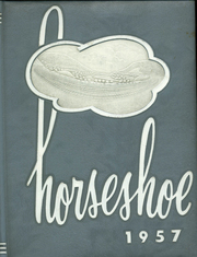 Altoona High School - Horseshoe Yearbook (Altoona, PA) online yearbook collection, 1957 Edition, Cover