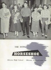Page 7, 1957 Edition, Altoona High School - Horseshoe Yearbook (Altoona, PA) online yearbook collection