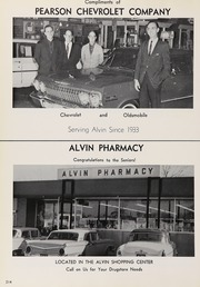 Alvin High School - Yellow Jacket Yearbook (Alvin, TX) online yearbook collection, 1963 Edition, Page 218 of 240