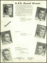 Alwood High School - Somethin Country Yearbook (Woodhull, IL) online yearbook collection, 1957 Edition, Page 10