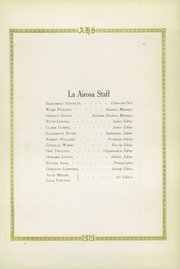 Page 10, 1919 Edition, Amarillo High School - La Airosa Yearbook (Amarillo, TX) online yearbook collection
