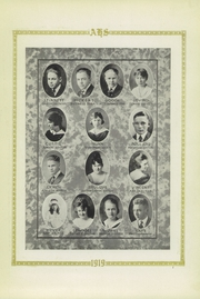 Page 11, 1919 Edition, Amarillo High School - La Airosa Yearbook (Amarillo, TX) online yearbook collection