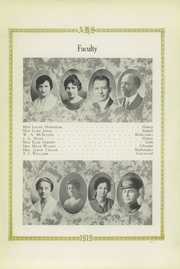 Page 15, 1919 Edition, Amarillo High School - La Airosa Yearbook (Amarillo, TX) online yearbook collection
