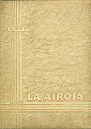 Amarillo High School - La Airosa Yearbook (Amarillo, TX) online yearbook collection, 1938 Edition, Cover