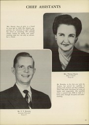 Page 15, 1951 Edition, Amarillo High School - La Airosa Yearbook (Amarillo, TX) online yearbook collection