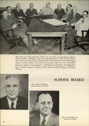 Page 16, 1951 Edition, Amarillo High School - La Airosa Yearbook (Amarillo, TX) online yearbook collection