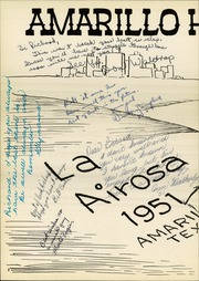 Page 6, 1951 Edition, Amarillo High School - La Airosa Yearbook (Amarillo, TX) online yearbook collection