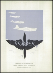 Page 7, 1944 Edition, Ambridge Area High School - Bridger Yearbook (Ambridge, PA) online yearbook collection
