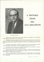 Page 15, 1973 Edition, American Chrsitian College - Torchbearer Yearbook (Tulsa, OK) online yearbook collection
