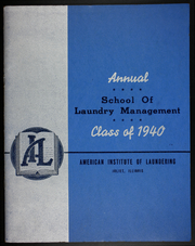 American Institute of Laundering - Annual Yearbook (Joliet, IL) online yearbook collection, 1940 Edition, Cover