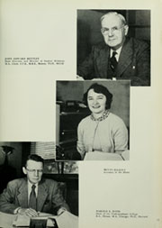 Page 15, 1954 Edition, American University - Talon / Aucola Yearbook (Washington, DC) online yearbook collection