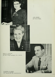Page 17, 1954 Edition, American University - Talon / Aucola Yearbook (Washington, DC) online yearbook collection