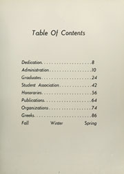 Page 11, 1959 Edition, American University - Talon / Aucola Yearbook (Washington, DC) online yearbook collection