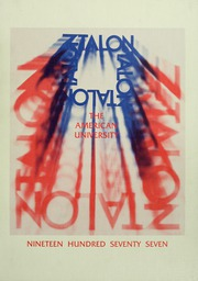 American University - Talon / Aucola Yearbook (Washington, DC) online yearbook collection, 1977 Edition, Cover