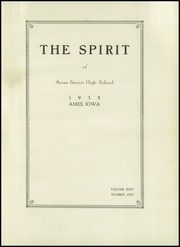 Page 7, 1935 Edition, Ames High School - Spirit Yearbook (Ames, IA) online yearbook collection